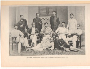 Parsi Cricket Team 1890
