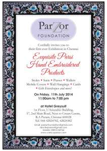 Parzor Chennai Exhibition  11 JUly 14