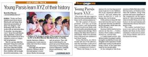 XYZ - Hindustan Times - Page 1 and 6