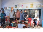 Encouraging Pursuuit of Education in tribal children