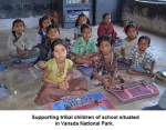 Supporting tribal children in pursuit of Education school