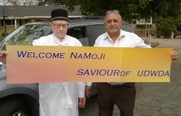 Welcome NaMoji banner