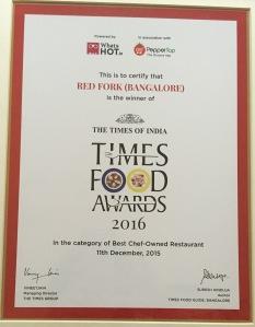 RF award