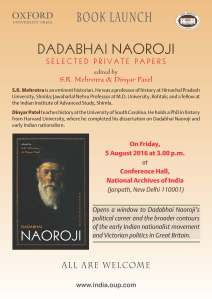 Delhi book launch poster